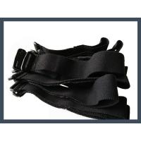 hot selling buckle hook and loop cable tie,black