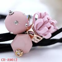 CH-A9012 Korean students crystal-studded rubber bands creative jewelry
