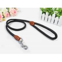 Leash and Collars PU Leash with Real Leather Wrap