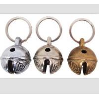 Dia 25mm brass bell with keyring/ key chain bell/promotional bell Manufactures