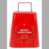 wholesale nice christmas bell for Kmart/walmart/Meijer/Target , cowbell manufacturer from China Manufactures