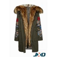 Winter Military Jackets with Faux Fur Hood Manufactures