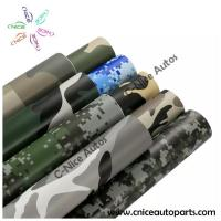 Camouflage Car Wrap Vinyl Film bubble free with imported removable glue 1.52x30m/roll Manufactures
