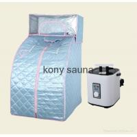 Buy cheap Portable Sauna Full body Portable steam sauna with headcover from wholesalers