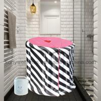Buy cheap Portable Sauna Portable steam wet sauna black and white from wholesalers