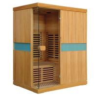 Buy cheap Far Infrared Sauna 200cm Height Far Infrared Sauna House for 3 Person from wholesalers