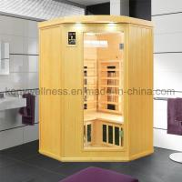 Far Infrared Sauna small coner sauna with combined heater Manufactures