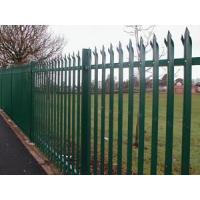 Types Of Fence Mesh W and D Section Palisade Fence Manufactures