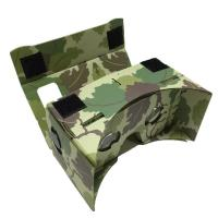 Customized RXD Camouflage google cardboard VR 3D glass Manufactures