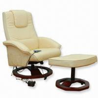 Buy cheap PU Massage Reclining Chair, Available in White and Black from wholesalers